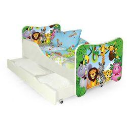 Producent: elior Bajkowe łóżko dziecięce junglis