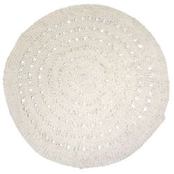 HK Living Okrągły dywan wełniany - HK Living TAP0831