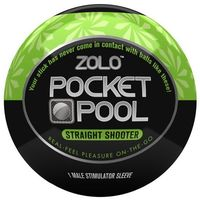 Masturbator podręczny - Zolo Pocket Pool Straight Shooter