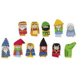 Zestaw pacynek na palce- zabawki dla dzieci (pacynka, kukiełka)