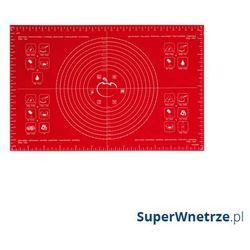 Mastrad Stolnica silikonowa 40 x 60 cm czerwona