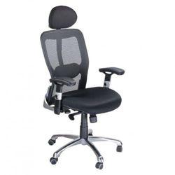 Fotel ergonomiczny bx-4029a czarny marki Corpocomfort