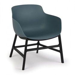 B2b partner Krzesło konferencyjne bari, ciemno niebieskie