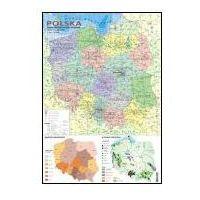 Polska Mapa administracyja Drogowa