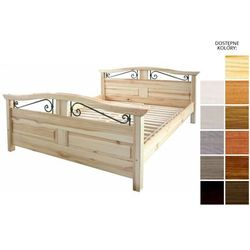 łóżko drewniane haga 180 x 200 marki Frankhauer