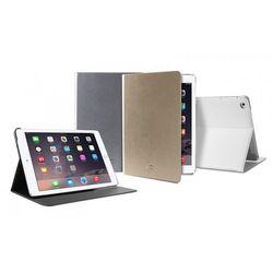PURO Booklet Slim Case - Etui iPad Air 2 w/Magnet & Stand up (biały), towar z kategorii: Pozostałe komputery