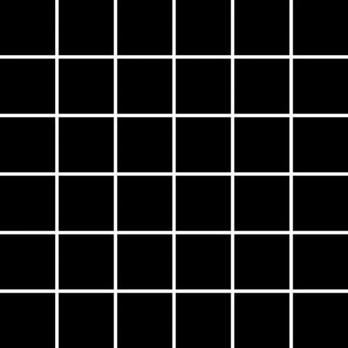 ALBIR NERO MOZAIKA PRASOWANA K.4,8X4,8 29,8X29,8 G1 (glazura i terakota)