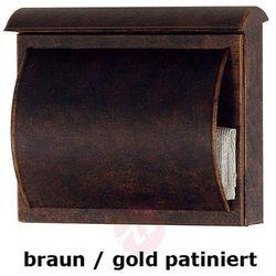 Skrzynka na listy TORES patynowana brąz lub złoto (4007633028995)