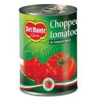 Pomidory krojone 400 g Del Monte