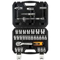 Zestaw kluczy nasadowych NEO 1/2 cala 08-662 (32 elementy) + DARMOWY TRANSPORT! + Zamów z DOSTAWĄ JU