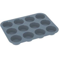 La cucina Silikonowa forma do pieczenia muffinek, 12 muffinek