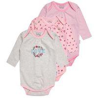 Gelati Kidswear LONGSLEEVE SUPERGIRL 3 PACK Body multicolor (4042494326491)