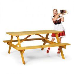 B2b partner Zestaw piknikowy - 2x ławka, 1x stół