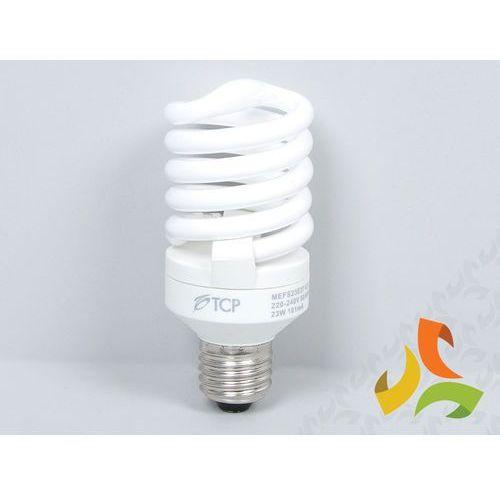 Świetlówka energooszczędna TCP 23W (100W) E27 FULL SPIRAL ze sklepu MEZOKO.COM