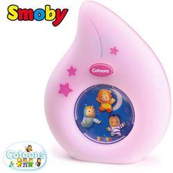 SMOBY Cotoons Lampka Nocna Różowa (2232161101014)