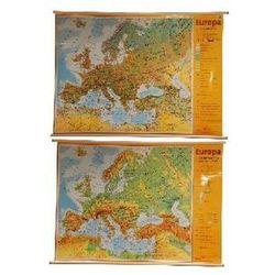Europa Krajobrazy Ukształtowanie powierzchni Mapa ścienna - produkt z kategorii- mapy