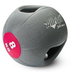 Piłka lekarska z uchwytami 8kg Allright - produkt dostępny w Fitness.Shop.pl