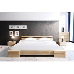 Skandica Łóżko drewniane bukowe sparta long 90-200x220