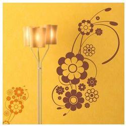 Wally - piękno dekoracji Szablon malarski kwiaty 1198