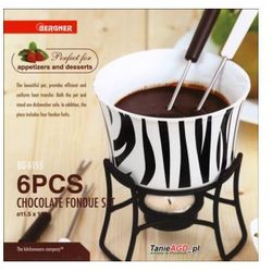 Kaiserhoff Fondue do czekolady  zebra 6 ele. [kh-6153-z], kategoria: fondue