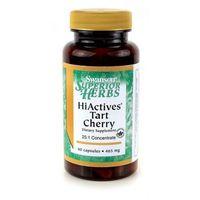 Hiactives tart cherry 465mg 60kaps wyprodukowany przez Swanson