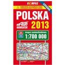 Polska 2013 Mapa Samochodowa 1:700 000, pozycja wydawnicza
