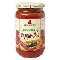 Sos pomidorowy papaya-chillii 350g BIO (bezglutenowy) - Zwergenwiese - produkt z kategorii- Sosy i dodatki
