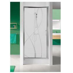 SANPLAST drzwi Tx 5 100 przesuwne, szkło CR D2/TX5b-100 600-271-1110-38-371 (drzwi prysznicowe)