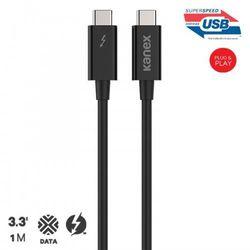 Kanex Thunderbolt 3 / USB-C Kabel, 20Gbps, 1 m (czarny), kup u jednego z partnerów