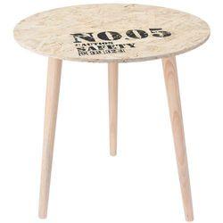 Stolik okazjonalny, kawowy CARGO - Ø 50 cm