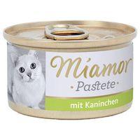 MIAMOR Katzenzarte Fleischpastete - pasztet mięsny smak: królik 85g (42017066)