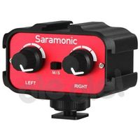 Saramonic ADAPTER AUDIO SR-AX100 3.5MM IN/OUT VDSLR