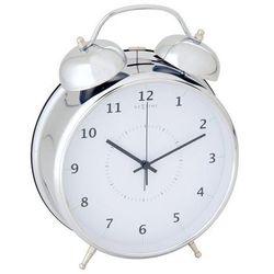 Budzik Wake Up srebrny 23 cm (8717545056653)