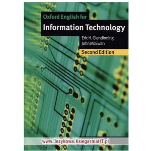 Oxford English for Information Technology (New Edition): Student's Book (podręcznik) (9780194574921)