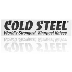 Naklejka na zderzak samochodowy Cold Steel Bumper Black on White (PRCSSR.1)