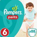 Pampers, Active Baby Pants Mega Box. Pieluchomajtki, rozmiar 6 Extra Large, 88szt - Pampers, 12501889