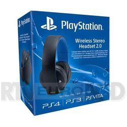 playstation wireless stereo headset 2.0 (czarny) - produkt w magazynie - szybka wysyłka!, marki Sony