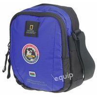 Saszetka na ramię  explorer - niebieski marki National geographic