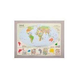 Podkadka na biurko - Mapa polityczna Świata - Wysyłka od 3,99 - porównuj ceny z wysyłką (mapa szkolna)