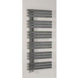 Sapho Silvana grzejnik łazienkowy 600x1500mm stalowy, metaliczny antracyt 771w ir156 (8590913827457)