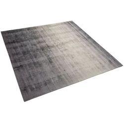 Dywan jasnoszaro-ciemnoszary 200 x 200 cm krótkowłosy ERCIS
