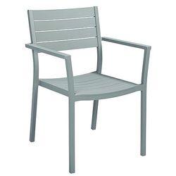 Miloo Krzesło ogrodowe szary collins