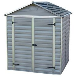 Narzędziowy domek do ogrodu skylight 6x5 szary - transport gratis! marki Palram