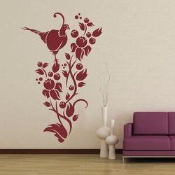 szablon malarski bażant kwiat 1233