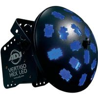 Efekt sceniczny led  vertigo hex led, 24 w, 2.75 kg, multikolor marki Adj