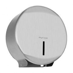 exclusive pojemnik na papier toaletowy jumbo śr 25cm stal szczotkowana mat marki Hygio