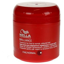 Wella Brilliance - maska do cienkich włosów farbowanych 150ml - oferta [354b4b70e7452426]