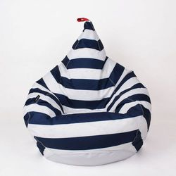 Oskar perek Puf tipi xxl couture wzór marynarski
