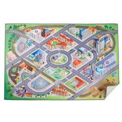 Dywan mata do zabawy - Plan miasta z kategorii Dywany dla dzieci