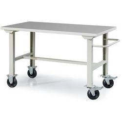 Mobilny stół roboczy solid 400, 1500x800 mm, winyl marki Aj produkty